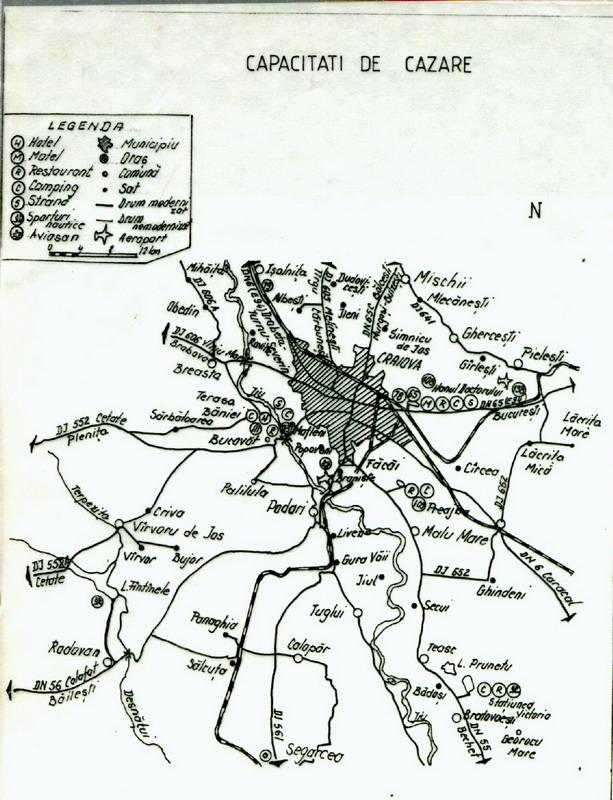 Harta Craiova Map